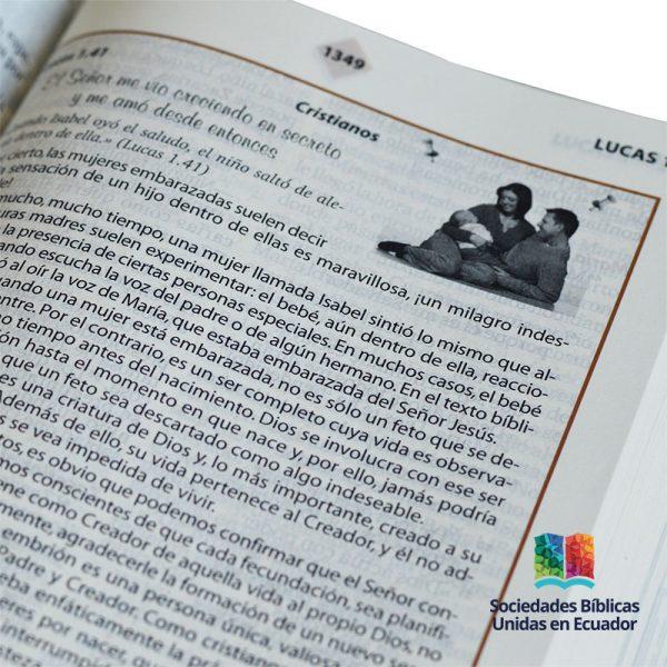 Biblia de Mi Familia – Imit. piel Gris TLA | Tienda ...